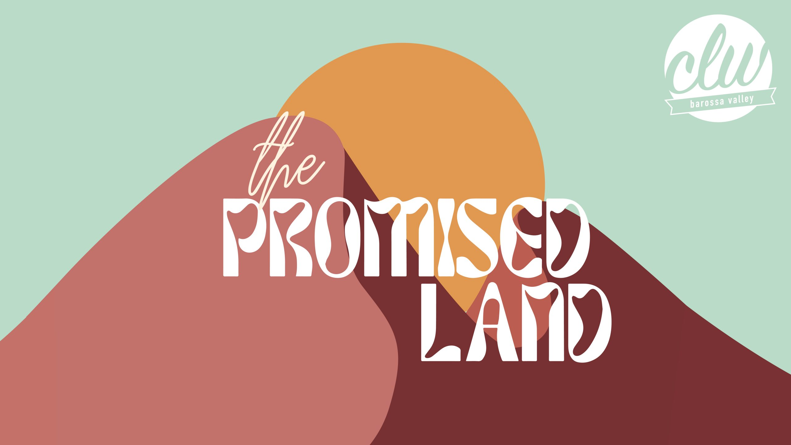 BVCLW21 promised land banner
